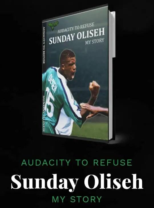 "Ex-International Oliseh Set To Launch Autobio – ""Audacity To Refuse"""