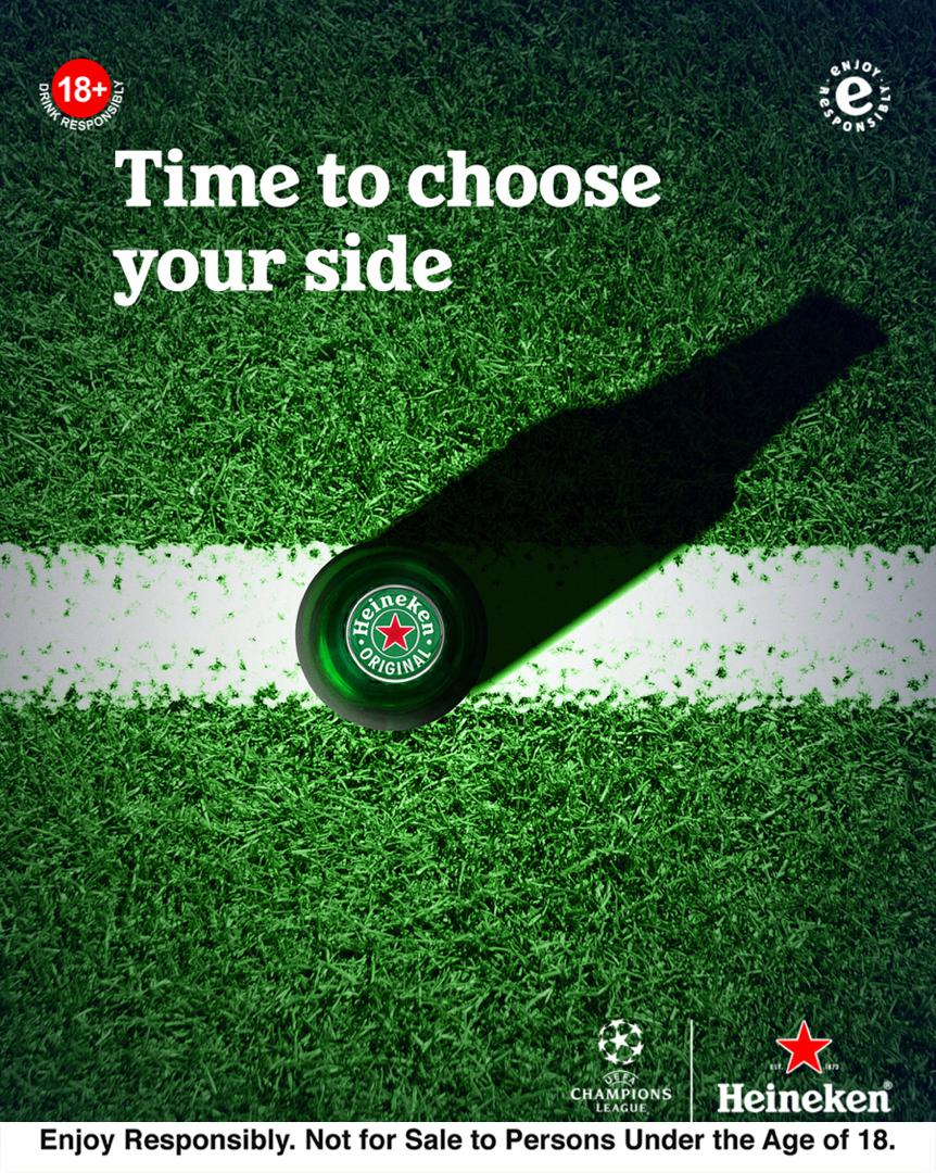Champions League Round Of 16 Phase Concludes With Thrilling Ties As Heineken Launches 'You're Never Watching Alone' Campaign