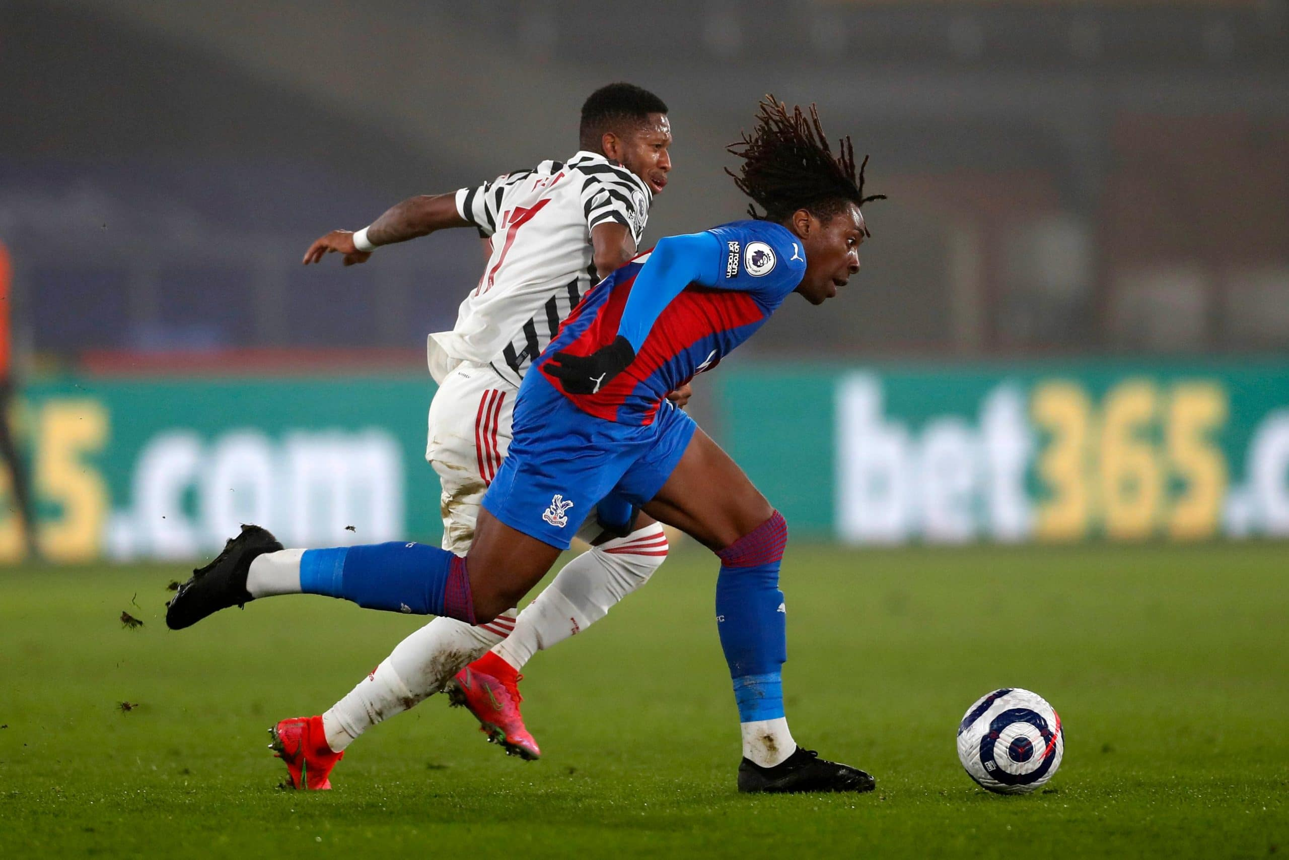 Eze, Crystal Palace Teammates Make Premier League History Vs Man United In Home Draw