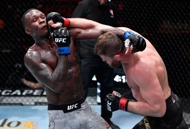 Israel Adesanya Faces Six-month Suspension After   Blachowicz Defeat
