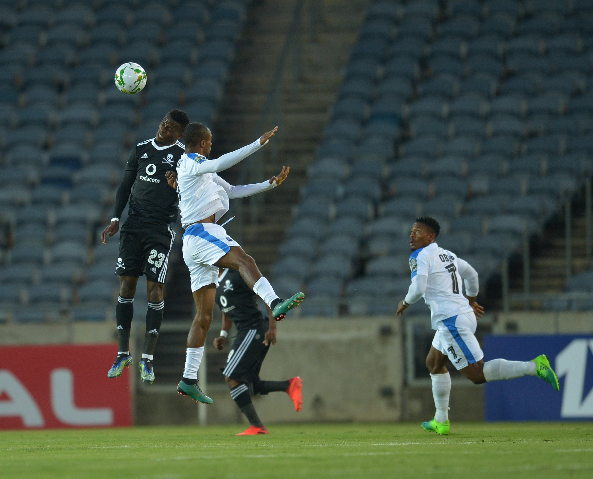 CAFCC: Enyimba Fall To Narrow  Defeat  Against Orlando Pirates