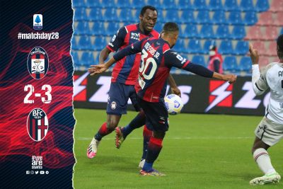 Serie A: Simy Nwankwo On Target In Crotone's Home Defeat Vs Bologna