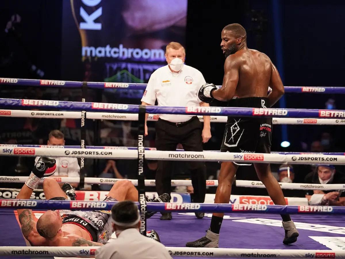 Lawrence Okolie Knocks Out Glowacki In Sixth Round To Claim WBO Cruiserweight Title