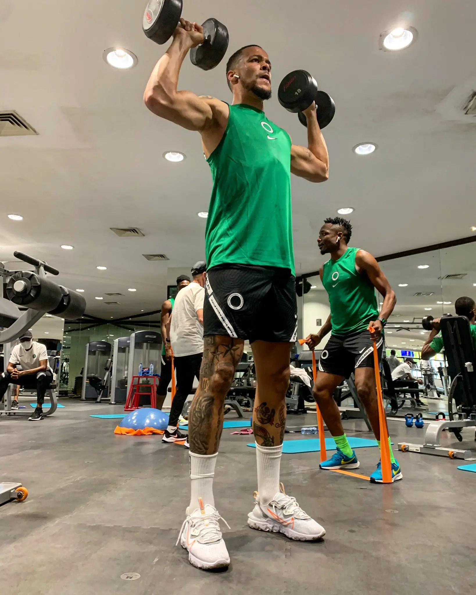 2021 AFCON Qualifiers: Super Eagles Hit Gym For Benin, Lesotho