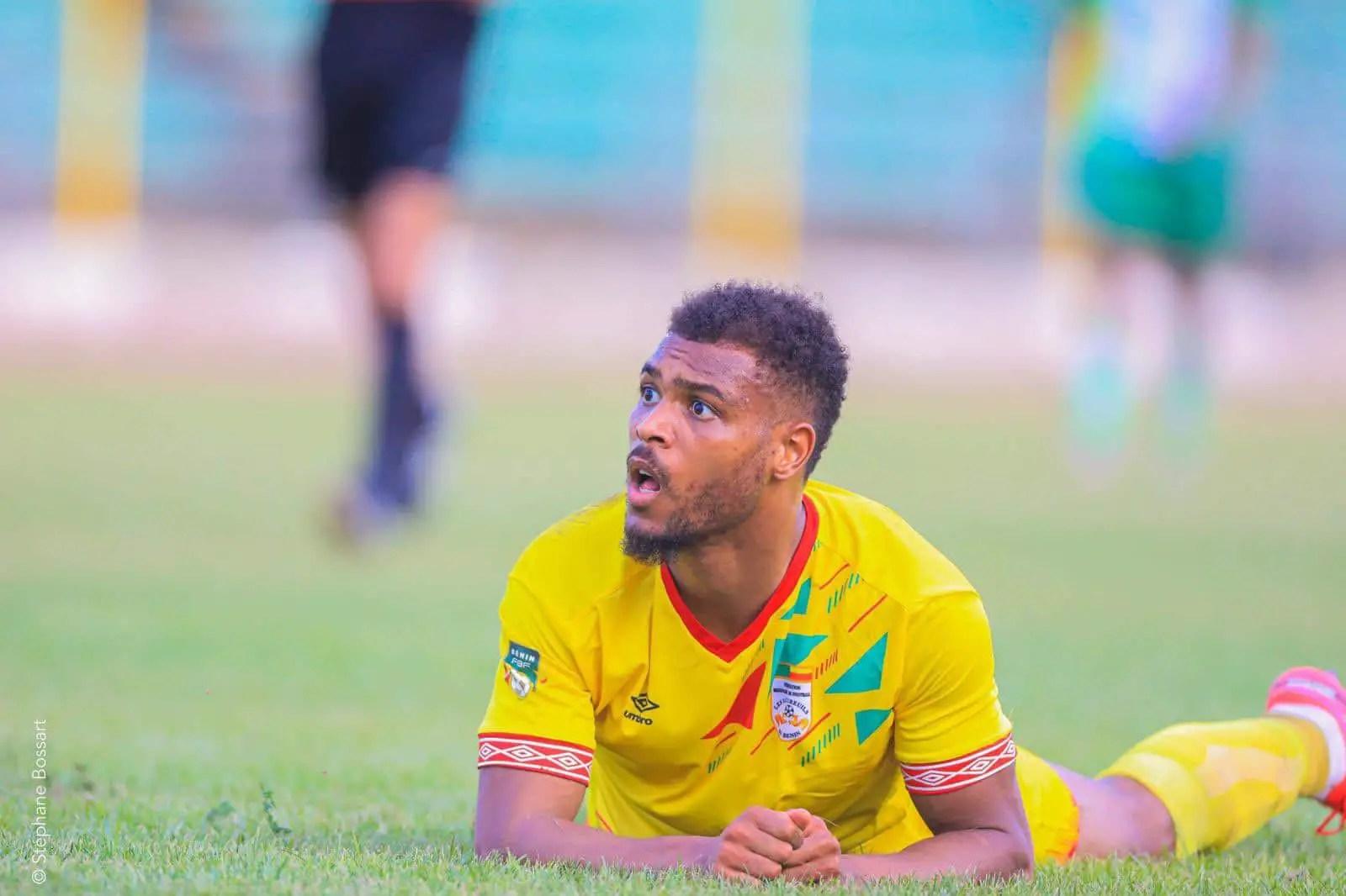 Benin Forward Mounie Rues  Defeat To Super Eagles