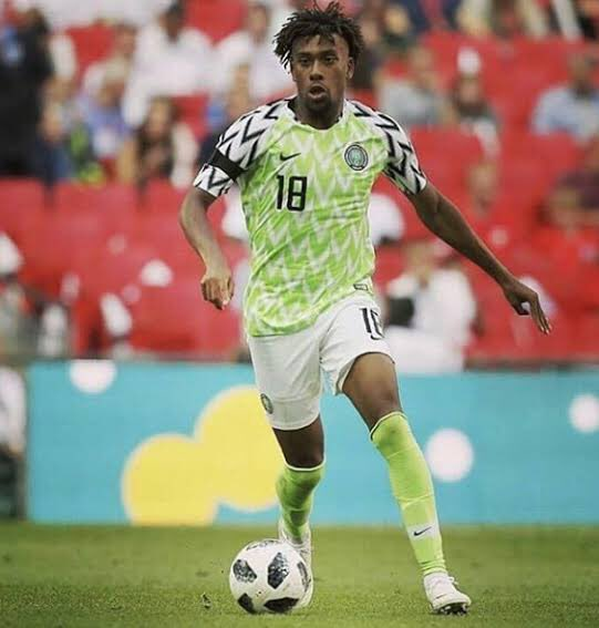 Iwobi Thanks NFF, Teammates; Ready For Action Against Lesotho