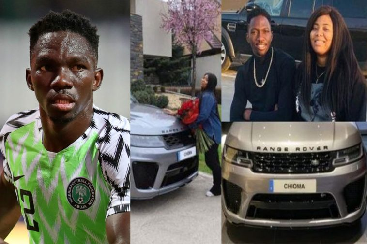 Sweet Couple!  Omeruo Takes A Ride Inside Wife's New Exotic N150m Range Rover