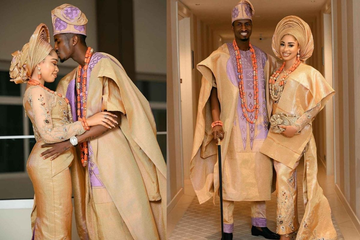 Super Eagles Star, Olayinka Weds Long Time Girlfriend, Yetunde Barnabas