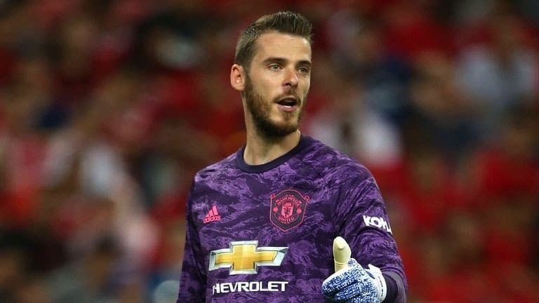 De Gea Set To Be Out For One Month