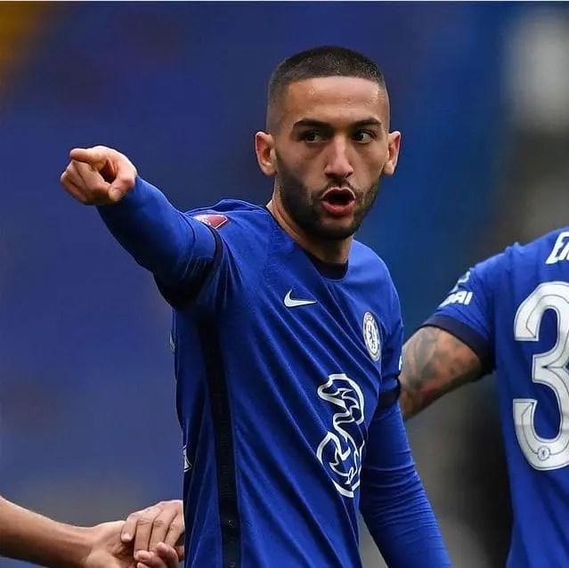 Chelsea Set To Offer Ziyech, Cash For Sevilla Defender Kounde