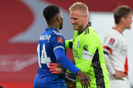 Schmeichel: Leicester City Squad Always Aware Of Iheanacho's Ability