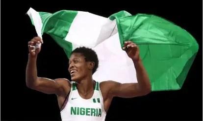 Adekuruoye Promises Gold In Tokyo, Hails Sports Minister Dare