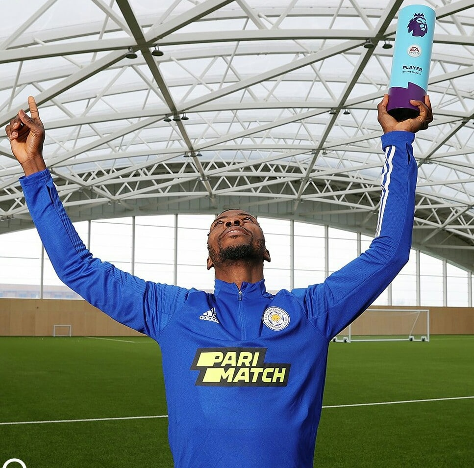 Iheanacho And Three Other Nigerians Who Have Won Premier League Player Of The Month Award