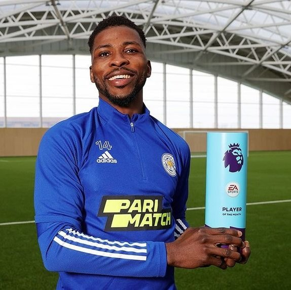 BREAKING: Iheanacho Named Premier League Player Of The Month For March