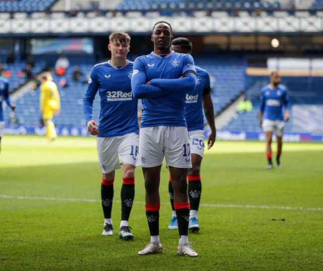 Scotland: Aribo On Target , Balogun In Action As Rangers Edge Past Ross County
