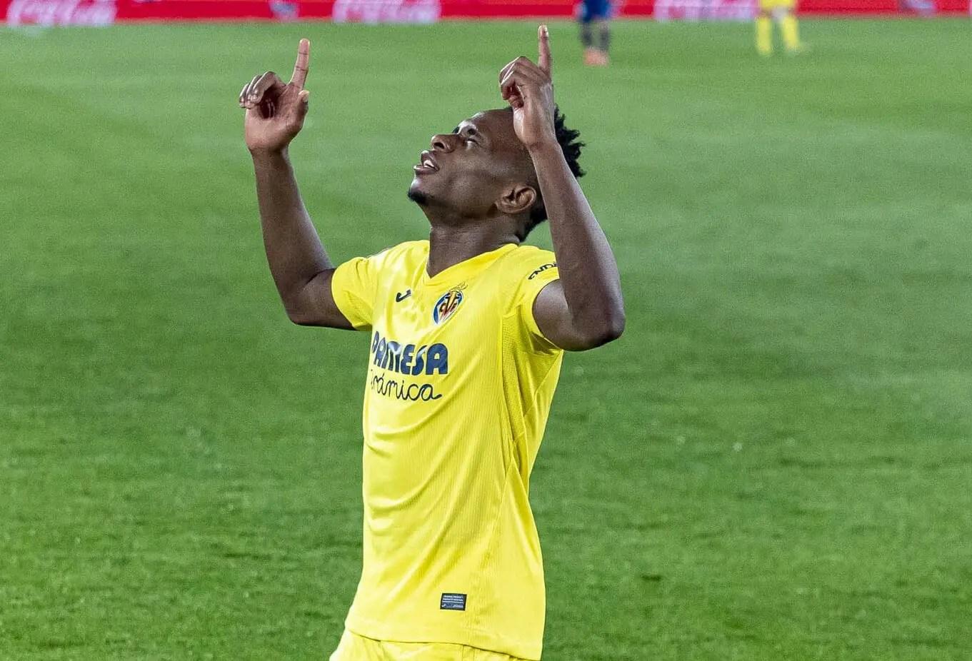 Laliga: Chukwueze Nets Brace As Villarreal Thrash Levante, Move Up To Europa Qualification Spot