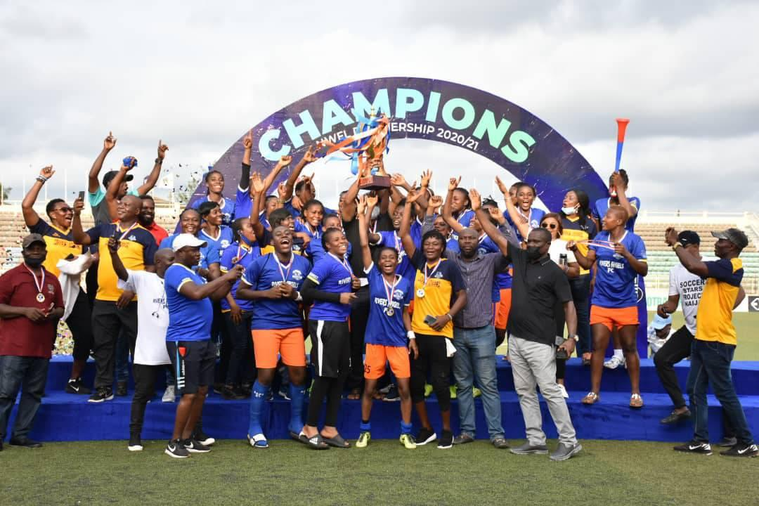 Governor Wike Charges NWFL Champions Rivers Angels To Conquer Africa