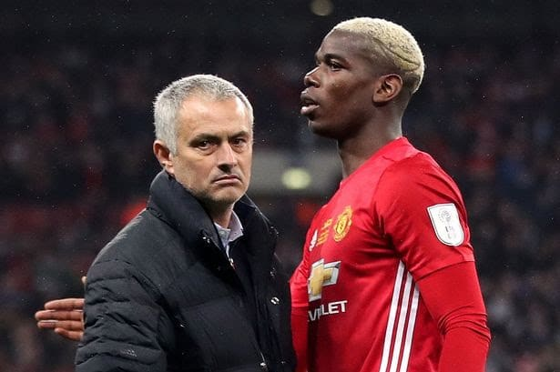 Mourinho Responds To Pogba's Criticism Of His Coaching At Man United