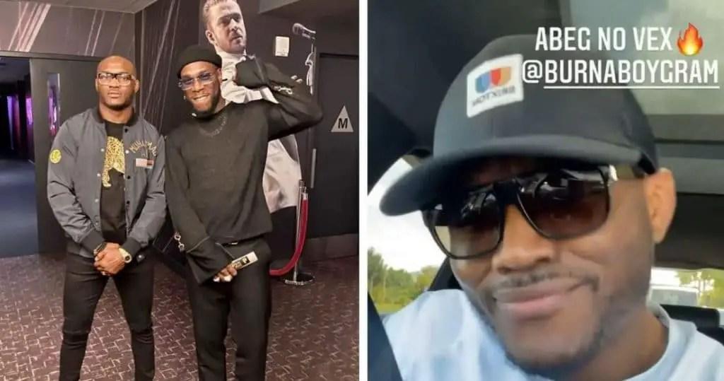 UFC Champs, Usman Leaks Burna Boy's Unreleased Single