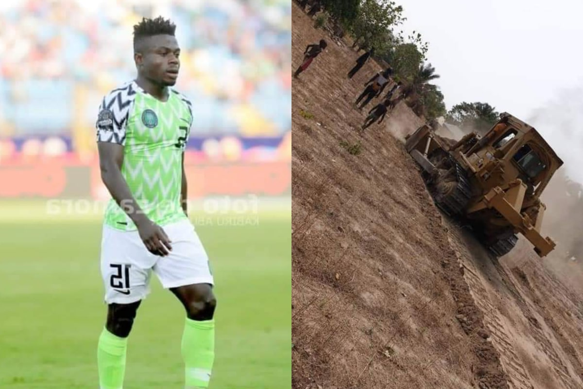 Moses Simon Constructs Roads, Drainage for Local Community In Benue State
