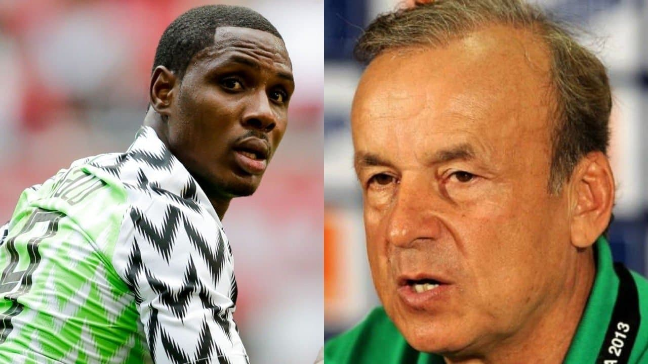 Rohr Misses Ighalo, Speaks Out About Eagles' Strike Force