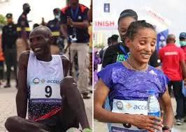 Kenya's Naibei, Ethiopia's Dinke Win Lagos City Marathon