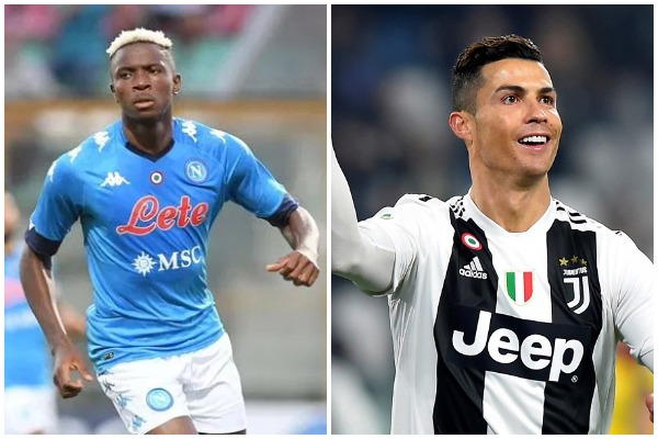 Osimhen Out To Truncate Ronaldo's Title Hopes As Napoli Host Juventus