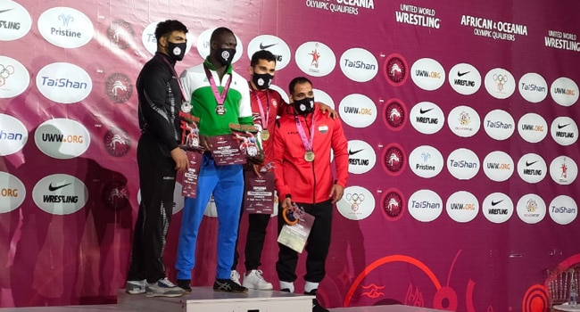 Wrestling: Agiomor Books First Ever Olympic Ticket