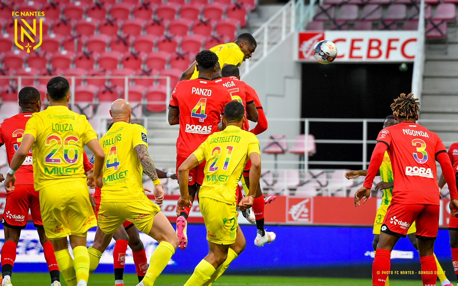 Simon Bags Assist, Moffi In Action As Relegation Threatened Nantes, Lorient Secure Vital Wins