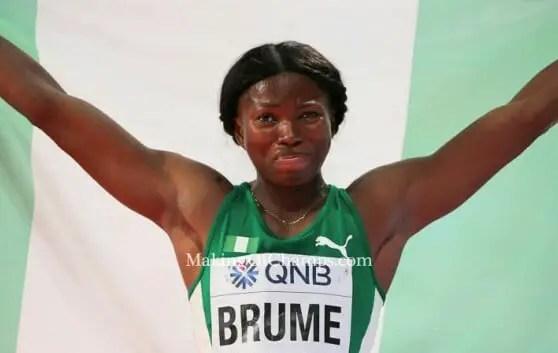 Ajunwa: I'm Happy Brume Broke My Long Jump Record