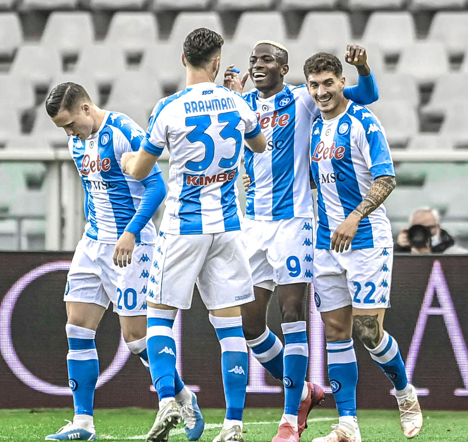 Serie A: Victor Osimhen Fires 8th Goal For Napoli