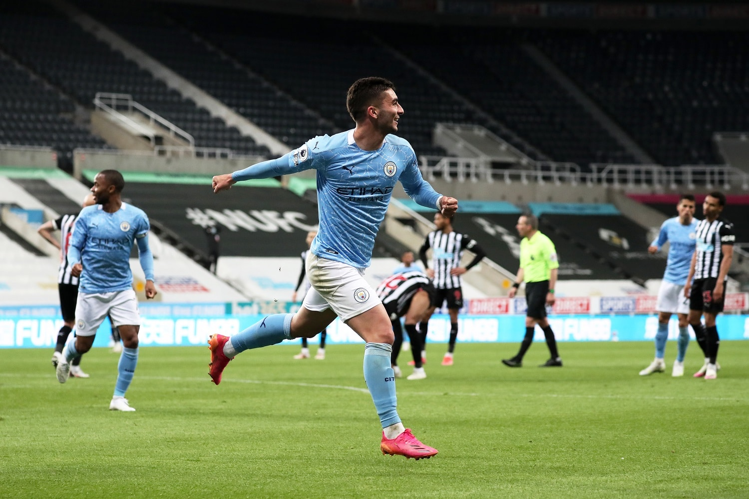 Man City Set New Record After Edging Newcastle In Seven-Goal Thriller