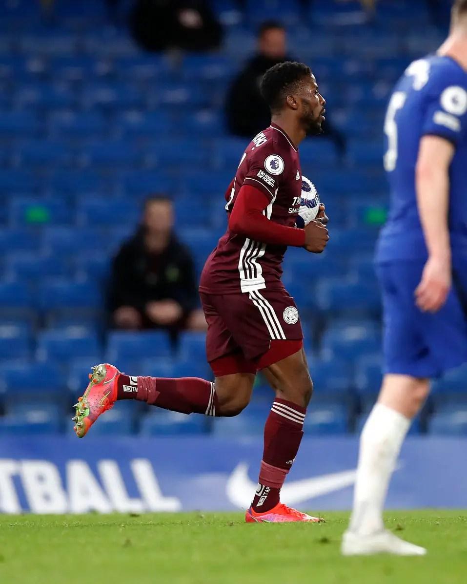 Agali Lavishes Praise On  Iheanacho After  Record Breaking Goal Vs Chelsea