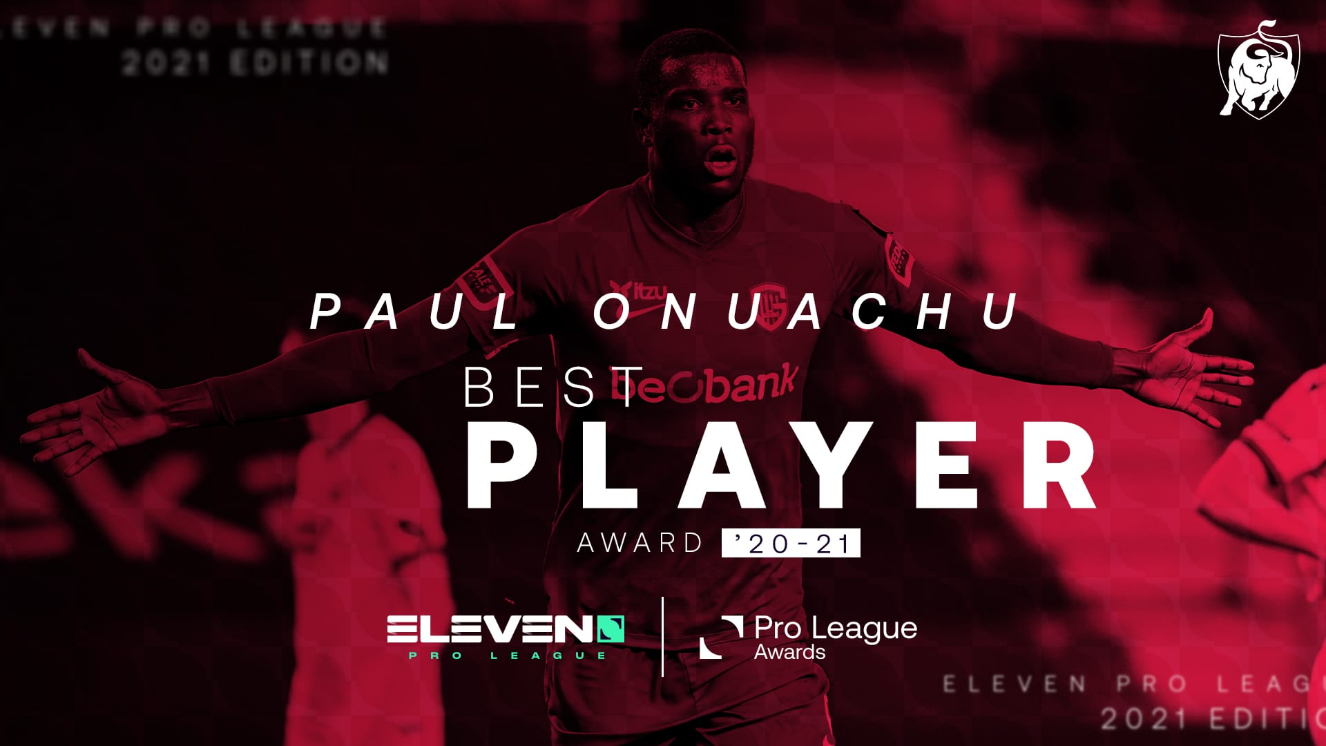 BREAKING: Onuachu Named Belgian Pro League Player Of The Year