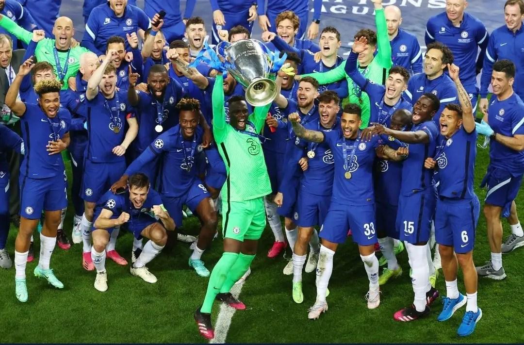 Chelsea Legend Mikel Celebrates Remarkable Champions League Win