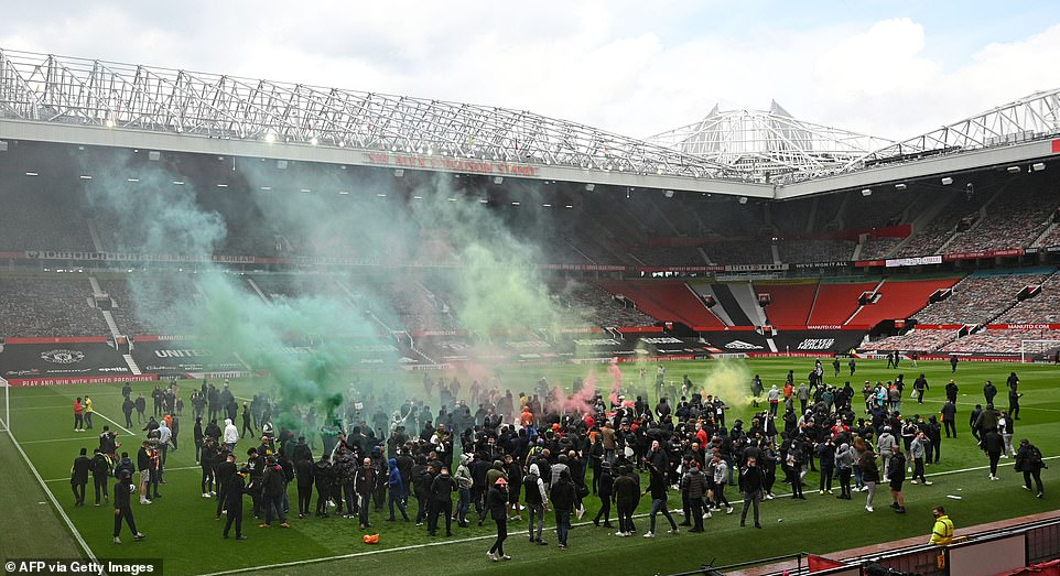 BREAKING: Man Utd, Liverpool Clash Officially Postponed After Fans Storm Old Trafford