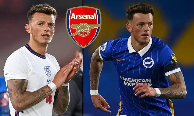 Arsenal Eyeing Move For Brighton Defender White