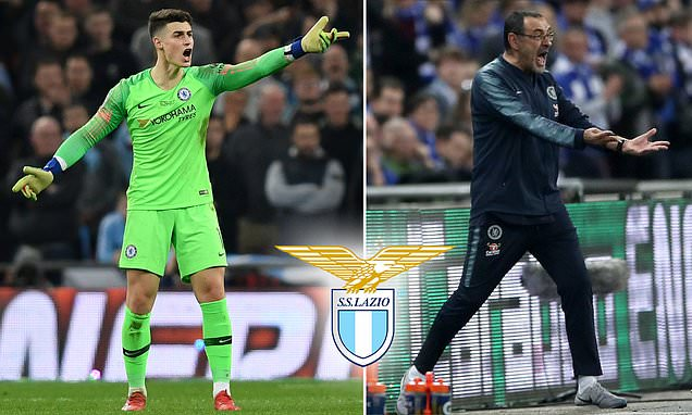 Lazio New Boss Sarri Wants Arrizabalaga On Loan