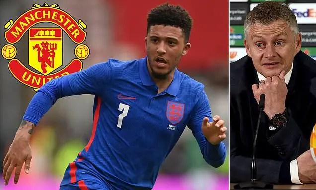 Man United Make Improved Offer For Sancho