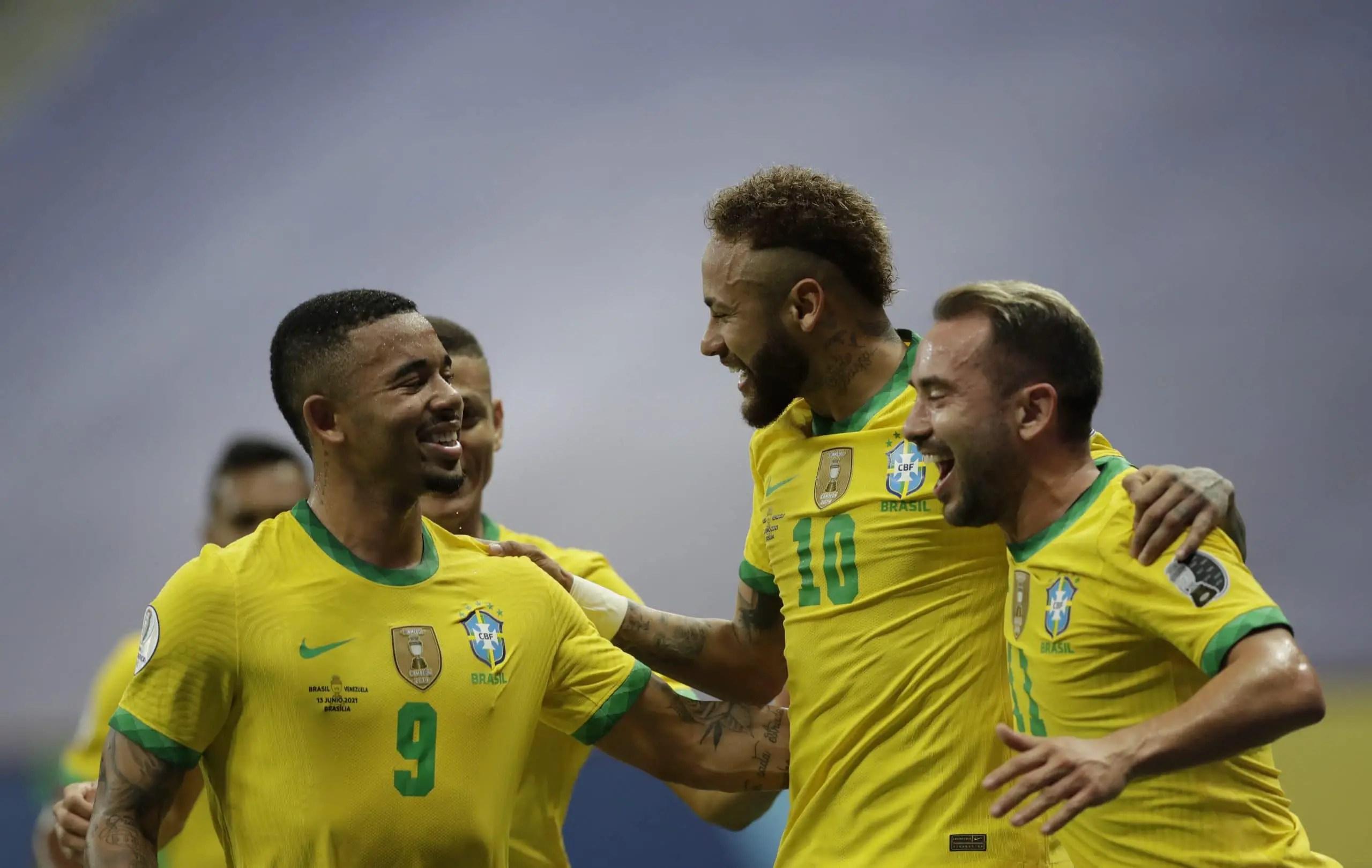 Copa America: Neymar On Target Again, Closes In On Pele's Record As Brazil Thrash Peru