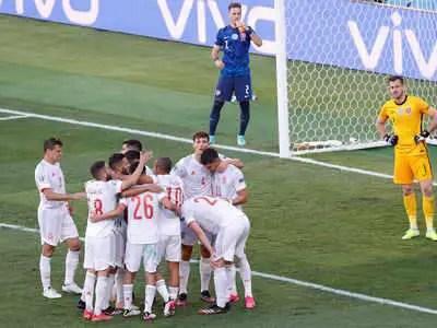 Euro 2020: Spain Spank Slovakia 5-0 To Seal Round Of 16 Spot As Sweden Edge Poland