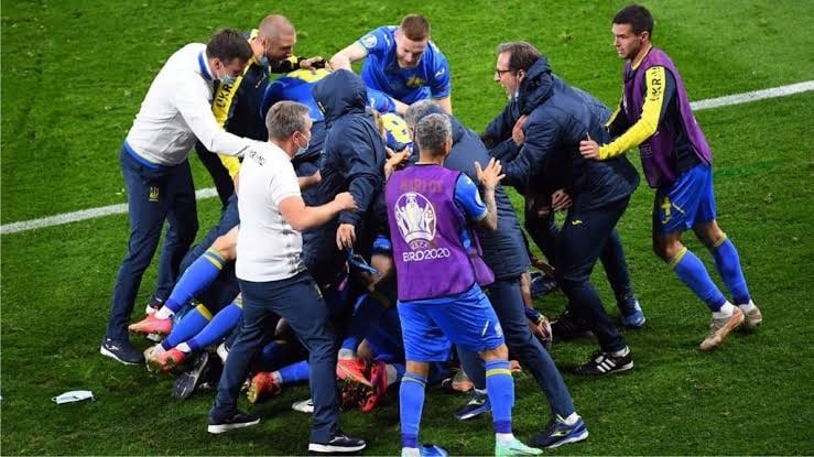 Euro 2020: Ukraine Nets Late Winner In Extra-Time To Knock 10-Man Sweden Out