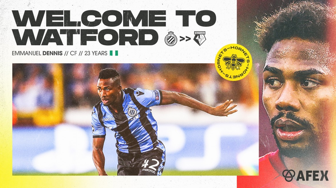 OFFICIAL: Dennis Joins Troost-Ekong, Success At Watford