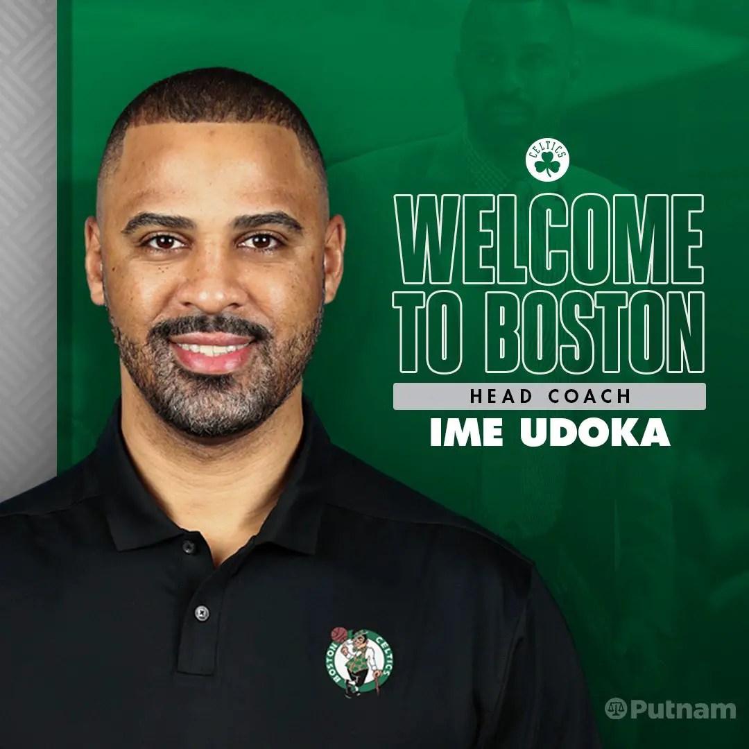 OFFICIAL: Top NBA Side Boston Celtics Appoint Nigeria's Udoka New Head Coach