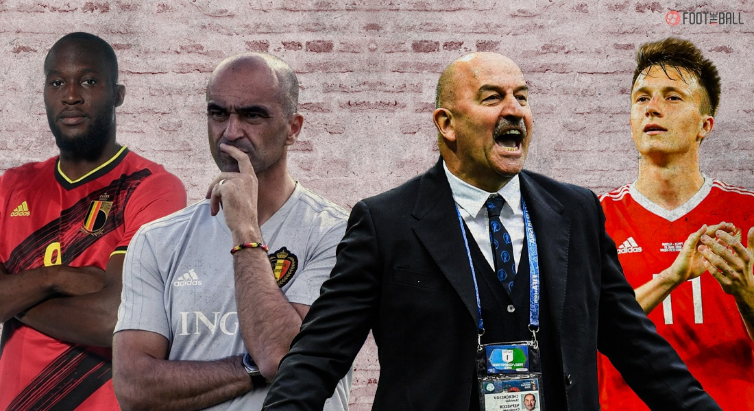 Belgium, Russia Battle For Points In Euro 2020