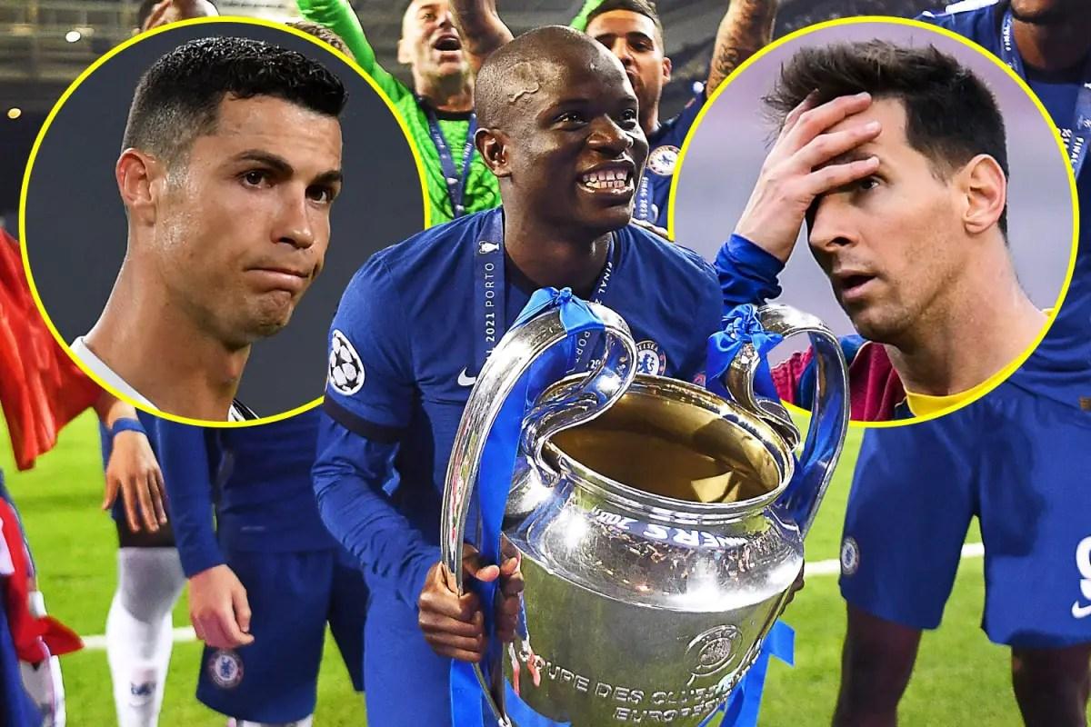 Kante, Not Messi, Ronaldo, Lewandowski Deserves Ballon d'Or -Saha