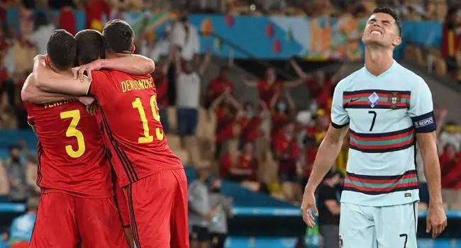 Euro 2020:'It's An Unfair Result' – Portugal's Coach Santos Bemoans Loss To Belgium