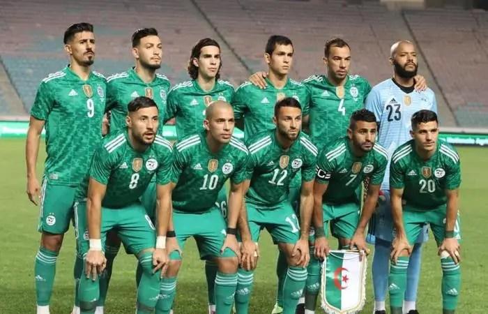 Algeria Sets New African Record In Friendly Match Win Vs Tunisia