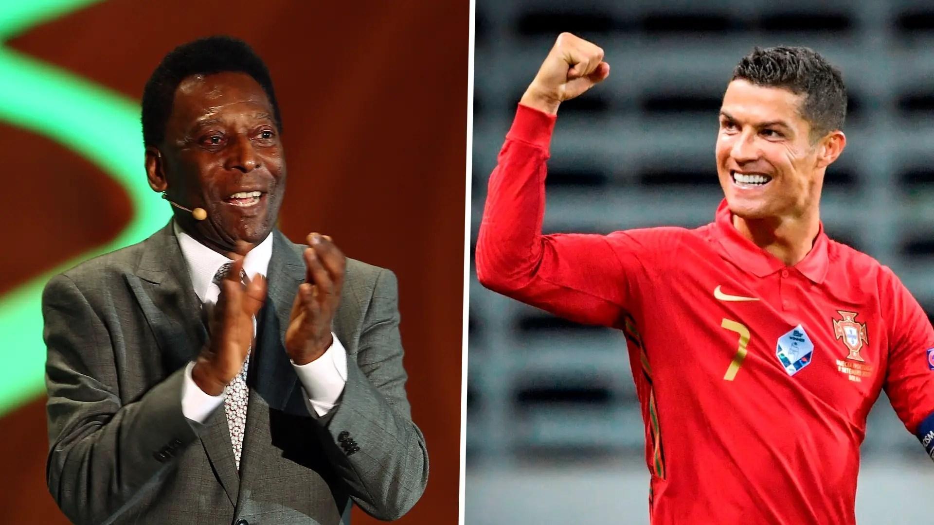 Ronaldo Simply A Born Goal Scorer -Pele