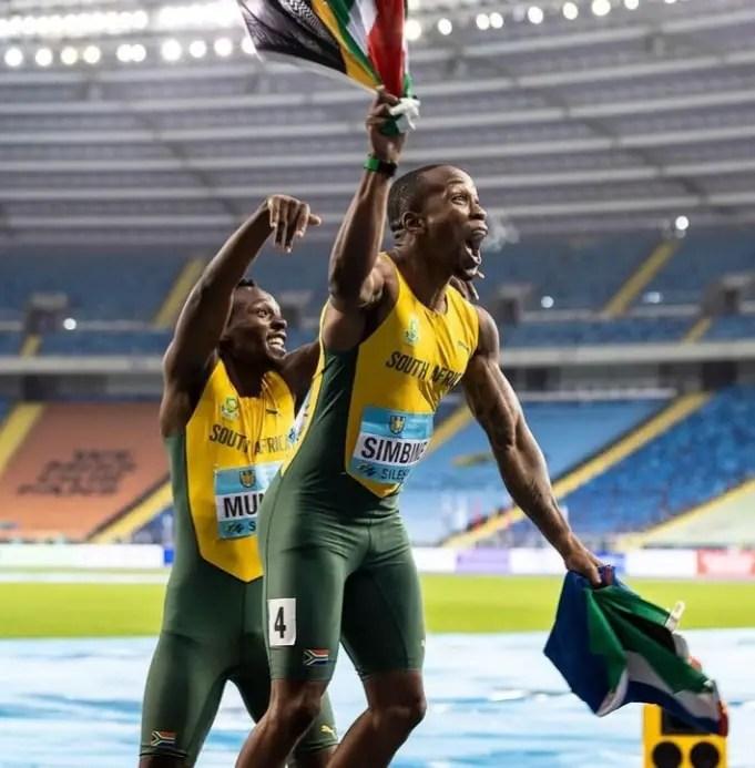 Simbine Replaces Fasuba As Africa's 100m King; Also Beats Oduduru In 200m